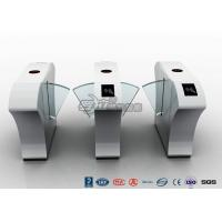 Buy cheap Half Height Access Control Turnstile Automatically Flap Barrier With Acrylic Flap product