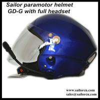 Buy cheap Best PPG helmet/Powered paragliding helmet EN966 GD-G from wholesalers