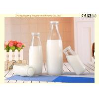 Buy cheap Aseptic Milk Glass Bottle Filling Machine / Bottling Production Line Food Grade SS304 from wholesalers