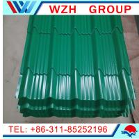 Buy cheap Coloured Glaze Material and Eaves Tiles Type metal roofing material from wholesalers