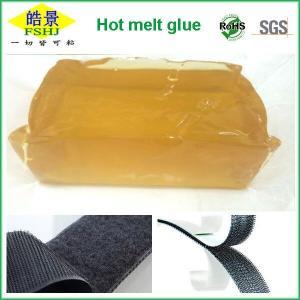 Buy cheap Non Toxic Good Viscosity Psa Hot Melt Adhesive Block For Velcro Use from Wholesalers