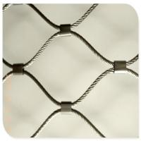 Buy cheap Customized Flexible Stainless Steel Cable Mesh Netting from wholesalers