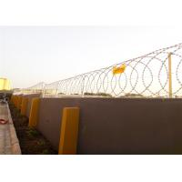 Buy cheap BTO -22 Blade Constantine Razor Wire Fence 450mm Coil Diameter Producing Process from wholesalers