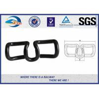 Buy cheap Spring Steel 60Si2MnA SKL Tension Clamp Elastic Rail Clips Oxide Black from wholesalers