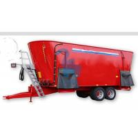 Vertical Screw Wide Feed Mixer Wagon Agriculture Farm Equipment 15650kgs