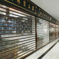 Buy cheap Polycarbonate roller shutter, heat and noise insulation from wholesalers