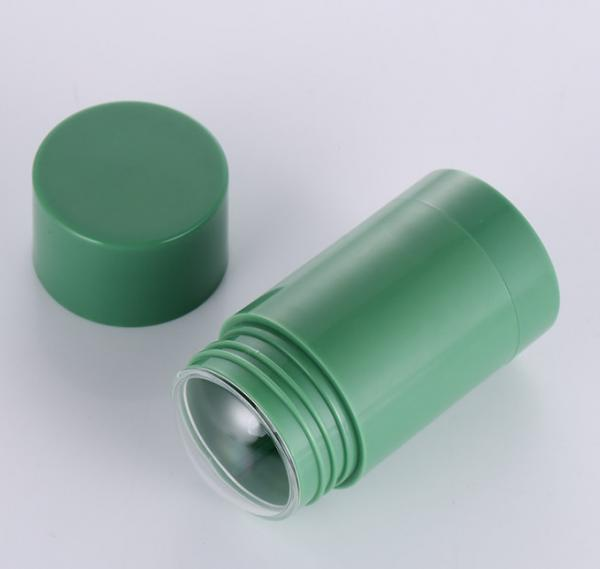 Buy cheap 1oz 1.7oz Twist Up Refillable Deodorant Containers Green Color from wholesalers