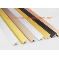 Buy cheap Polished Silver Ceramic Floor Tile Stair Edge TrimT Shaped Chrome Beading For Floors from wholesalers