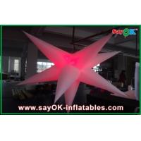 Buy cheap Customized Party Event Decoration Inflatable Hanging LED Light Star from wholesalers