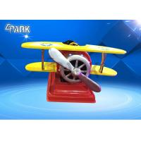 Buy cheap Propeller Big Plane coin amusement game machine for kid Amusement Park Products from wholesalers