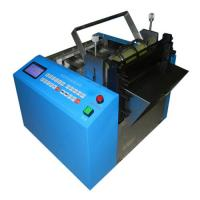 Buy cheap automatic silicone tube cutting machine LM-200s, Auto elastic band cutting machine,Woven ribbon cutting machine from wholesalers