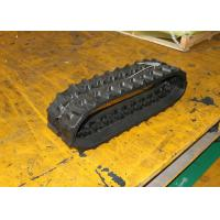 Buy cheap Mini Caterpillar Excavator Rubber Tracks For Small Construction Machinery from wholesalers