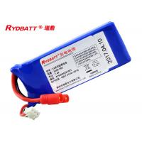 Buy cheap 908033 Lithium Polymer Battery Pack 2S1P 7.4V 2.2Ah For Electric Aero Model from wholesalers