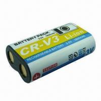 Buy cheap Digital Camera Battery for Sanyo CR-V3, 3.7V Voltage and 1,600mAh Capacity from wholesalers