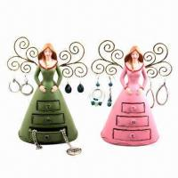 Buy cheap Resin Girl's Jewelry Displays/Nice Girl's Jewelry Holders, Can Also Decorate Home from wholesalers