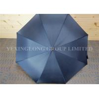 Strong Windproof Straight Handle Umbrella For Men Fiberglass Frame And Ribs