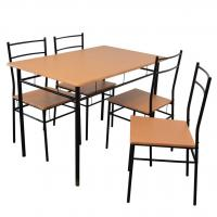 Buy cheap Housewares 5 Piece Kitchen Dining Table & Chairs Set from wholesalers