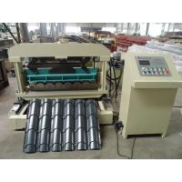 Buy cheap High Precision Roof Tile Roll Forming Machine Heat Treatment from wholesalers