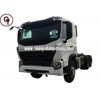 Buy cheap HOWO A7 6x4 Heavy Duty Semi Truck Tractor , Diesel Fuel Type Head Truck from wholesalers