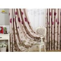 Buy cheap Interior Decorative Jacquard Window Curtains For Bedroom Yarn Dyed Pattern from wholesalers