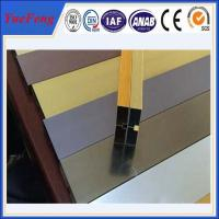 Buy cheap hot selling! extruded aluminum channel / aluminum glass channel OEM from wholesalers