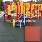 Buy cheap Exterior gym / playground / swimming pool interlocking rubber tile dogbone crumb flooring product