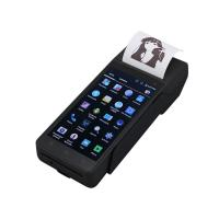 Buy cheap FP605 Wireless ticket Finger printer scanner linux POS handheld terminal biometric pos PDA device with sim card printer from wholesalers