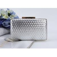 Buy cheap Leather Evening Clutches Handbag Bridal Purse Party Bags For Prom Cocktail Wedding from wholesalers