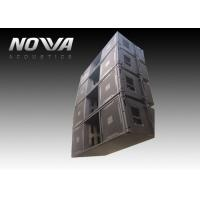 Buy cheap High Powered Line Array Speakers For Big Performance , Black Color from wholesalers