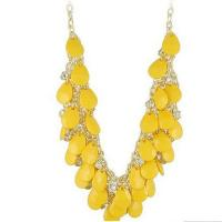 Buy cheap OEM lead free Stainless Steel yellow decorative allah muslim islamic epoxy crystal resin pendant from wholesalers