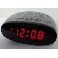 Buy cheap new style am fm alarm clock radio with red led display from wholesalers