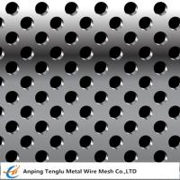 Buy cheap Stainless Steel Perforated Metal |Round or Square Hole Pattern Customized Size from wholesalers