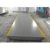 Buy cheap High Accuracy Weighbridge Truck Scale , Industrial Floor Weighing Scale from wholesalers