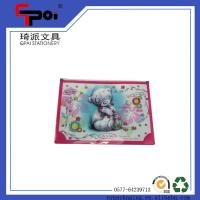 Buy cheap Wholesale School Stationery Printing PP Document Bag File Folder With Plastic Zipper Folder from wholesalers