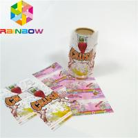 Buy cheap Custom Printing Shrink Sleeve Labels Plastic PET/PVC Material Glossy Lamination Surface from wholesalers