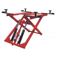 Buy cheap Low Profile Two Post Hydraulic Auto Lift 1100mm , 380V 2.8T Scissor Car Lift from wholesalers