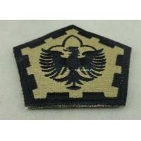 Buy cheap The Pentagon Clothes Patches Badges , Custom Embroidery Patches With Velcro from wholesalers