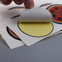 Buy cheap Permanent Printed Self Adhesive Labels Private Logo Glossy Lamination from wholesalers