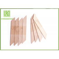 Buy cheap Healthy Mini Wooden Waxing Spatulas Nose Wax Applicator Blade Round Edge from wholesalers