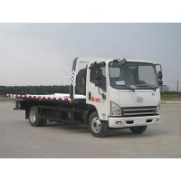 Buy cheap FAW 4*2 wrecker truck for sale from wholesalers