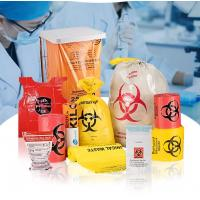 Buy cheap Biodegradable Autoclavable Biohazard Bags Biological Hazard Polythene Material from wholesalers