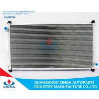Buy cheap Auto Parts Aluminum AC Condenser For Toyota Grj150 A / C Cooler In Aluminum Brazed product