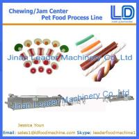 Buy cheap Chewing/jam center pet food machinery,Pet food processing line from wholesalers