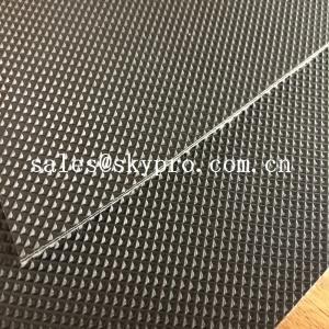 Buy cheap Wear Resistant Anti Static Mini Diamond Top Fabric PU / PVC Conveyor Belting product