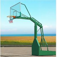 Buy cheap Multi Colored Steel Basketball Hoop Basketball Post Outdoor Basketball Stand from wholesalers