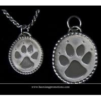 Buy cheap Round Paw Dog Pet ID Tags Disc Dog tag or Cat tag Engraved Custom LOGO from wholesalers