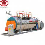Buy cheap Fire Tube 3 Pass Wet Back 6000kg/H Oil Steam Boiler from wholesalers