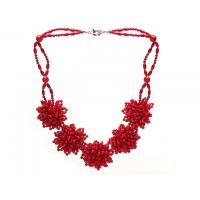 Buy cheap Fashion natural red coral necklace women Jewelry wholesale from China low MOQ from wholesalers