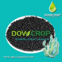 Buy cheap SEAWEED EXTRACT GRANULAR DOWCROP HIGH QUALITY HOT SALE 100% WATER SOLUBLE FERTILIZER ORGANIC Dark Brown Granular product