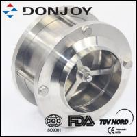 Buy cheap Three Piece Welding Hydraulic Pneumatic Check Valve For Beverage / Wine / Oil from wholesalers